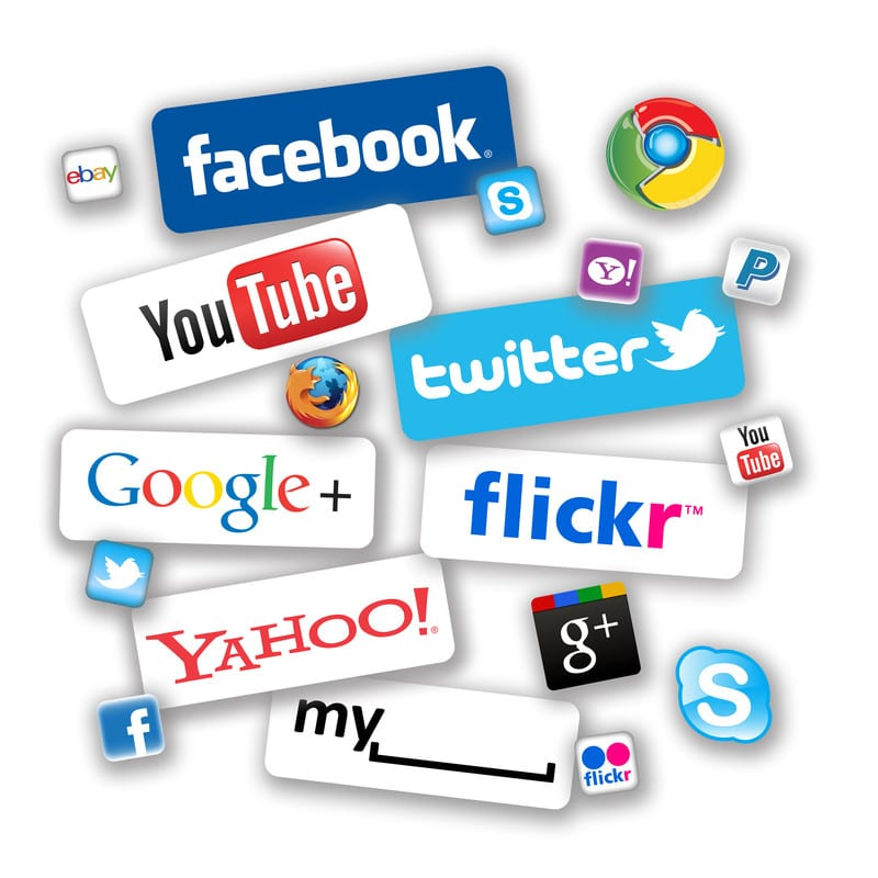 Social Media - Facebook, Twitter, Youtube, Google +